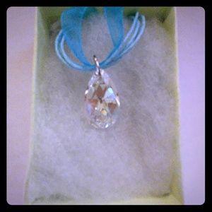 Jewelry - Shine Crystal Clear Teardrop Necklace